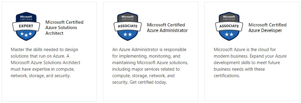 Microsoft Azure Bootcamps Certification Camps