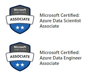 MCA Microsoft Azure Data Scientist w/ MCA Microsoft Azure
