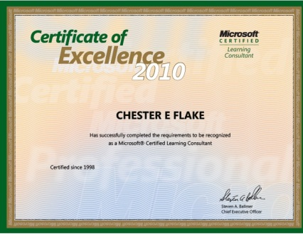 Chester Flake, MCLC