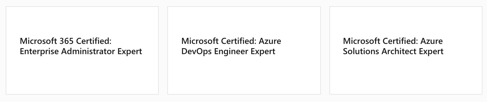 Microsoft MCE Certifications